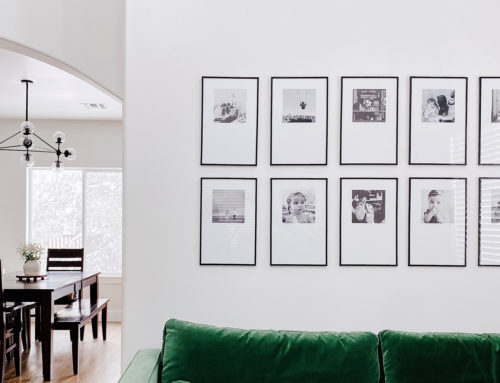 Thin Black Frame Gallery Wall
