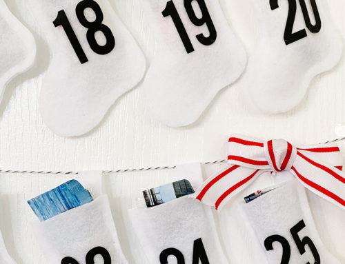 Modern & Minimal Advent Calendar