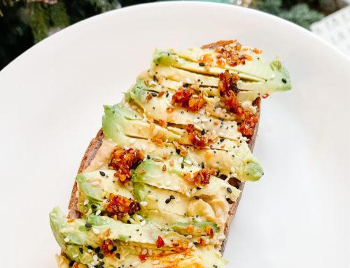 My Avocado + Hummus Toast Recipe
